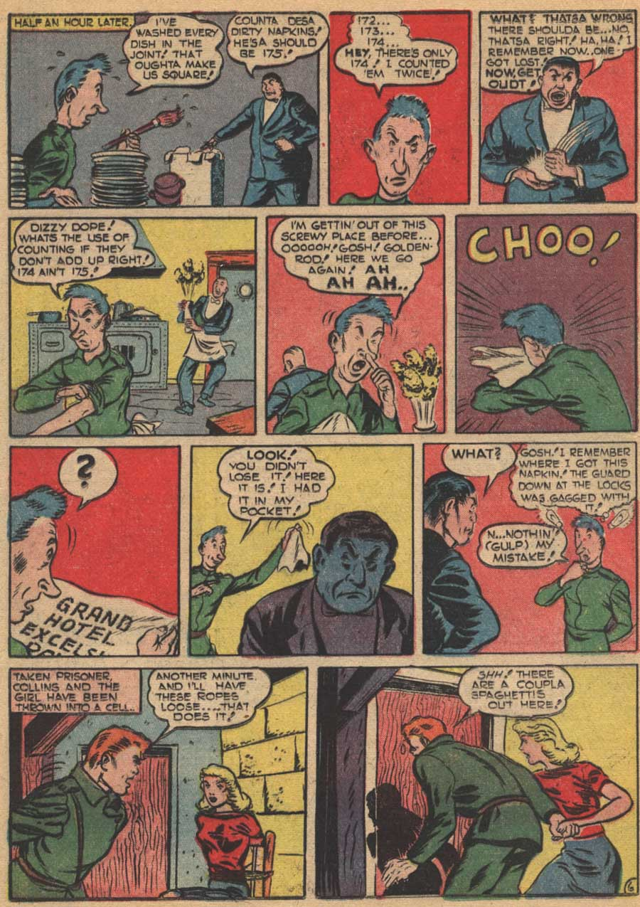 Blue Ribbon Comics (1939) issue 16 - Page 36