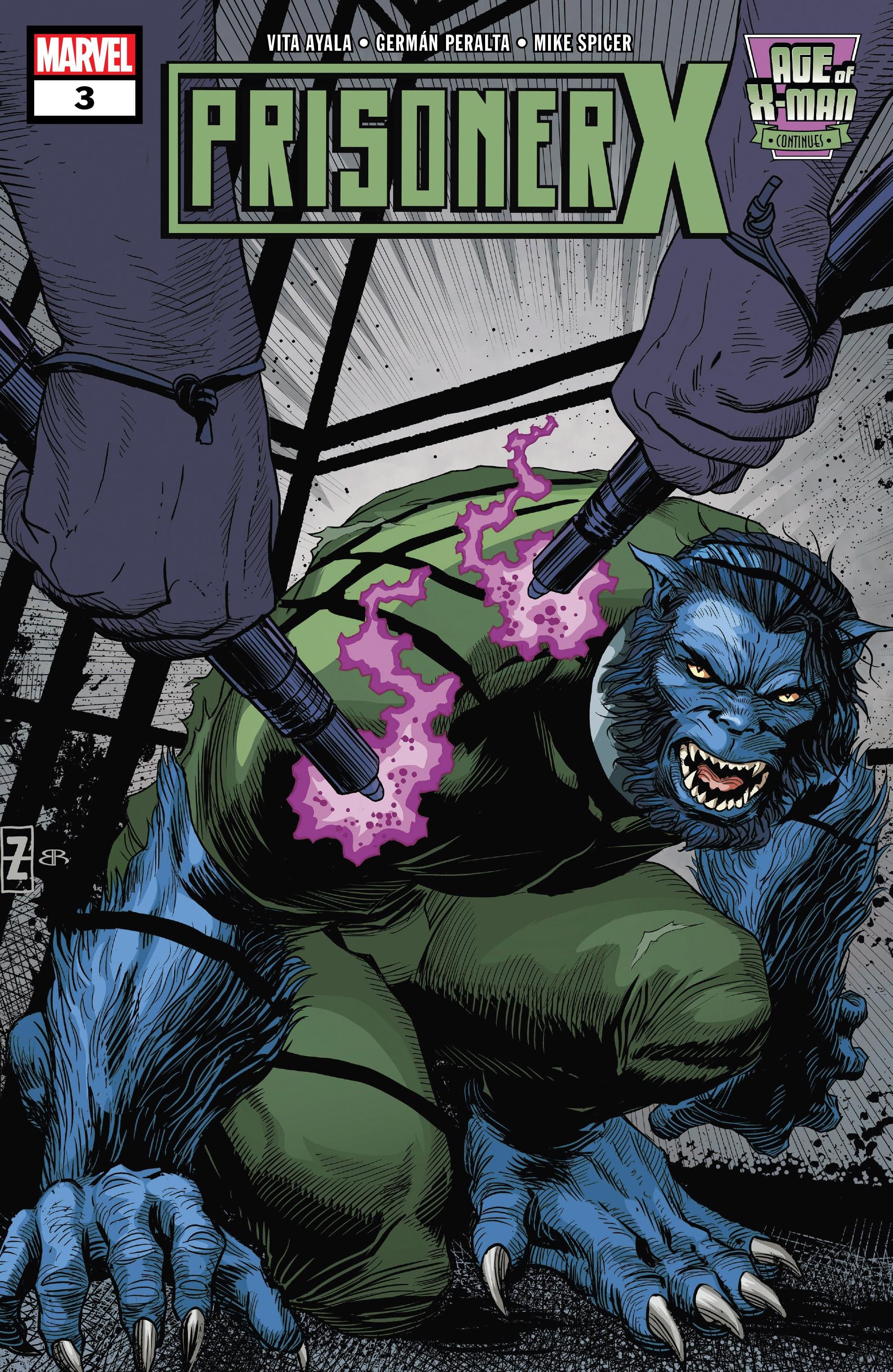 Age of X-Man: Prisoner X 3 Page 1