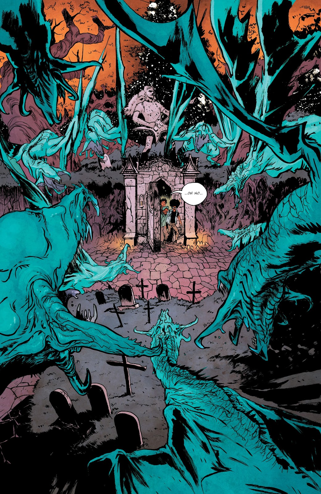 Read online Murder Falcon comic -  Issue #5 - 12