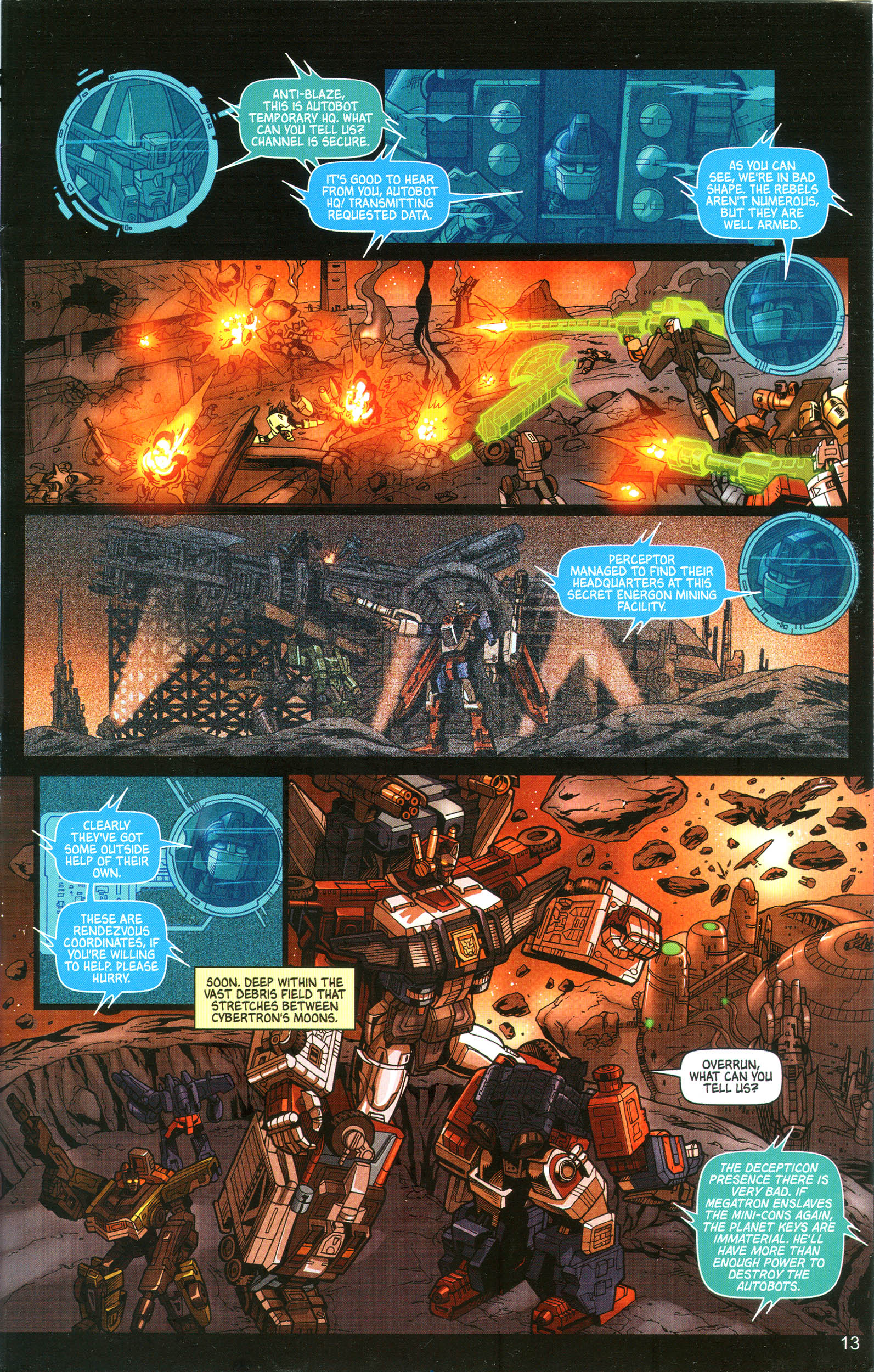 Read online Transformers: Collectors' Club comic -  Issue #10 - 13