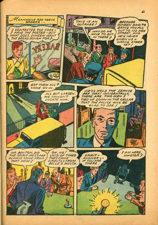 Read online Super-Magician Comics comic -  Issue #9 - 40