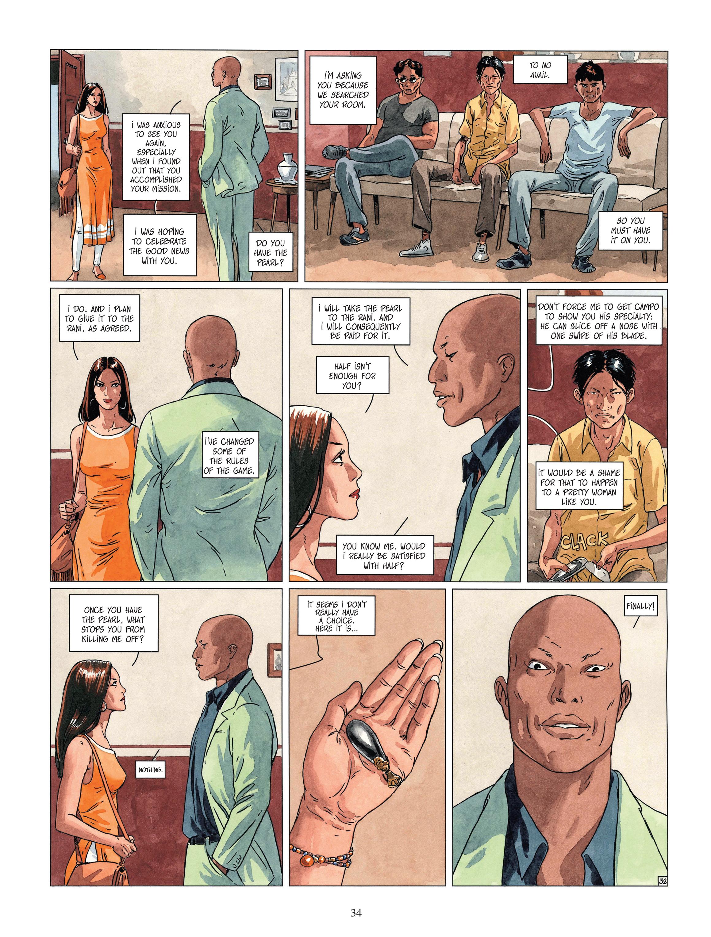 Read online Djinn comic -  Issue #13 - 35
