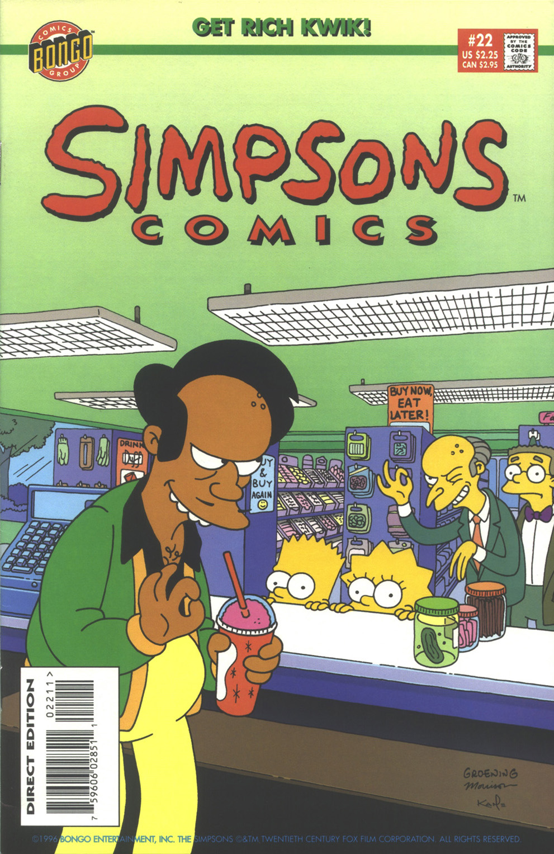 Read online Simpsons Comics comic -  Issue #22 - 1