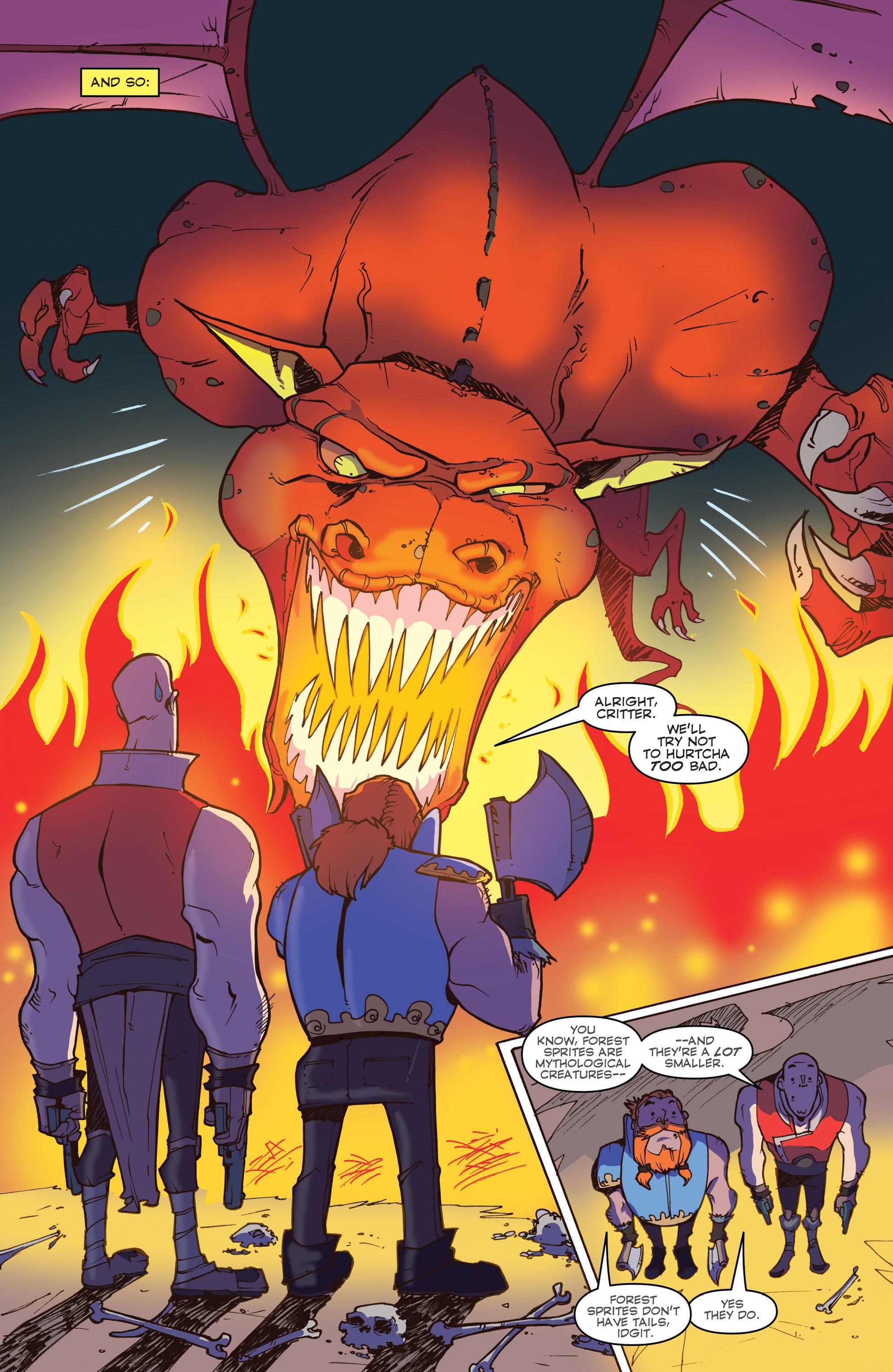 Read online Skullkickers comic -  Issue #18 - 29