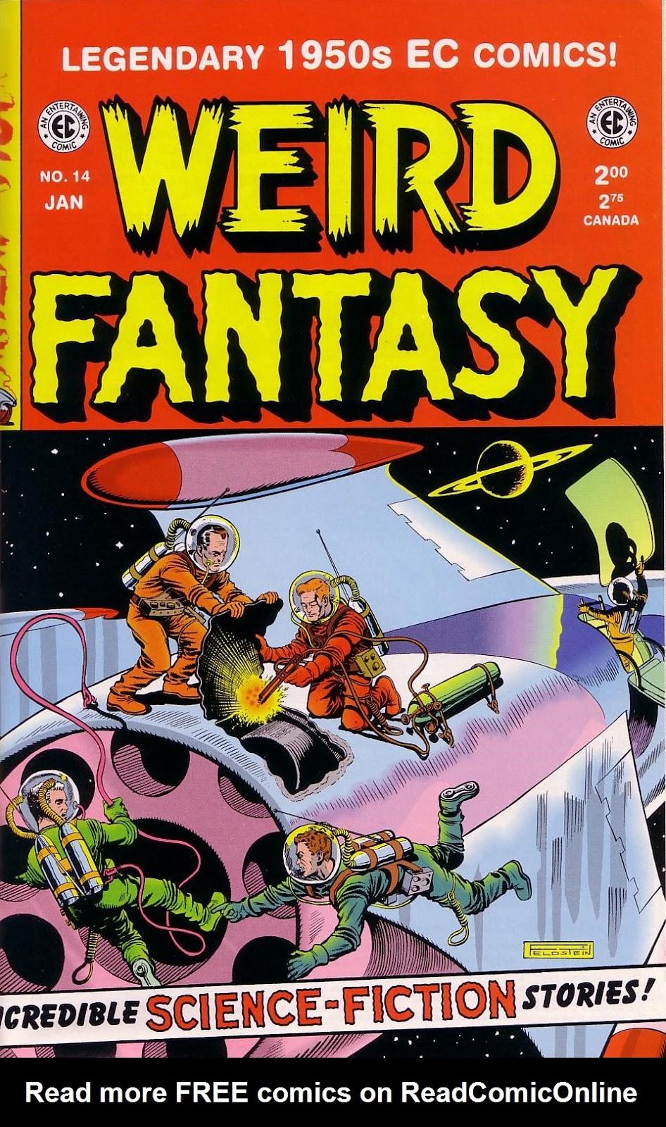 Weird Fantasy (1951) 14 Page 1