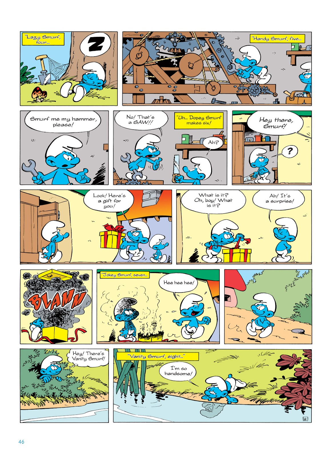 Read online The Smurfs comic -  Issue #5 - 46