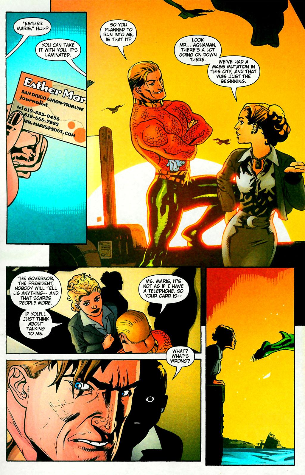 Read online Aquaman (2003) comic -  Issue #28 - 14