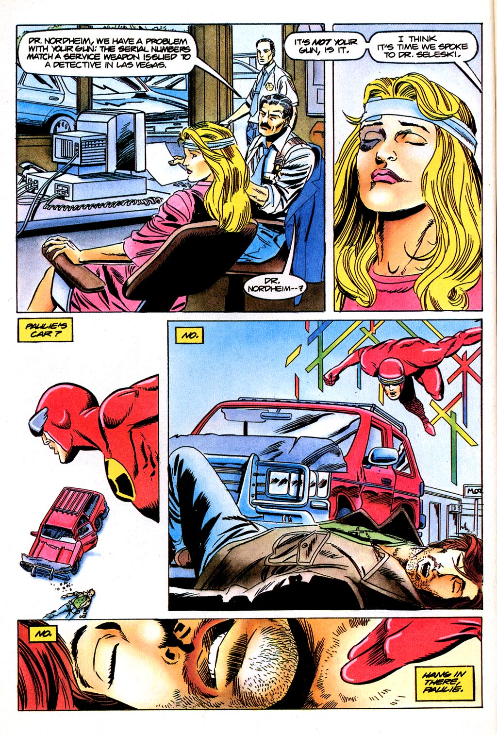 Read online Solar, Man of the Atom comic -  Issue #45 - 7