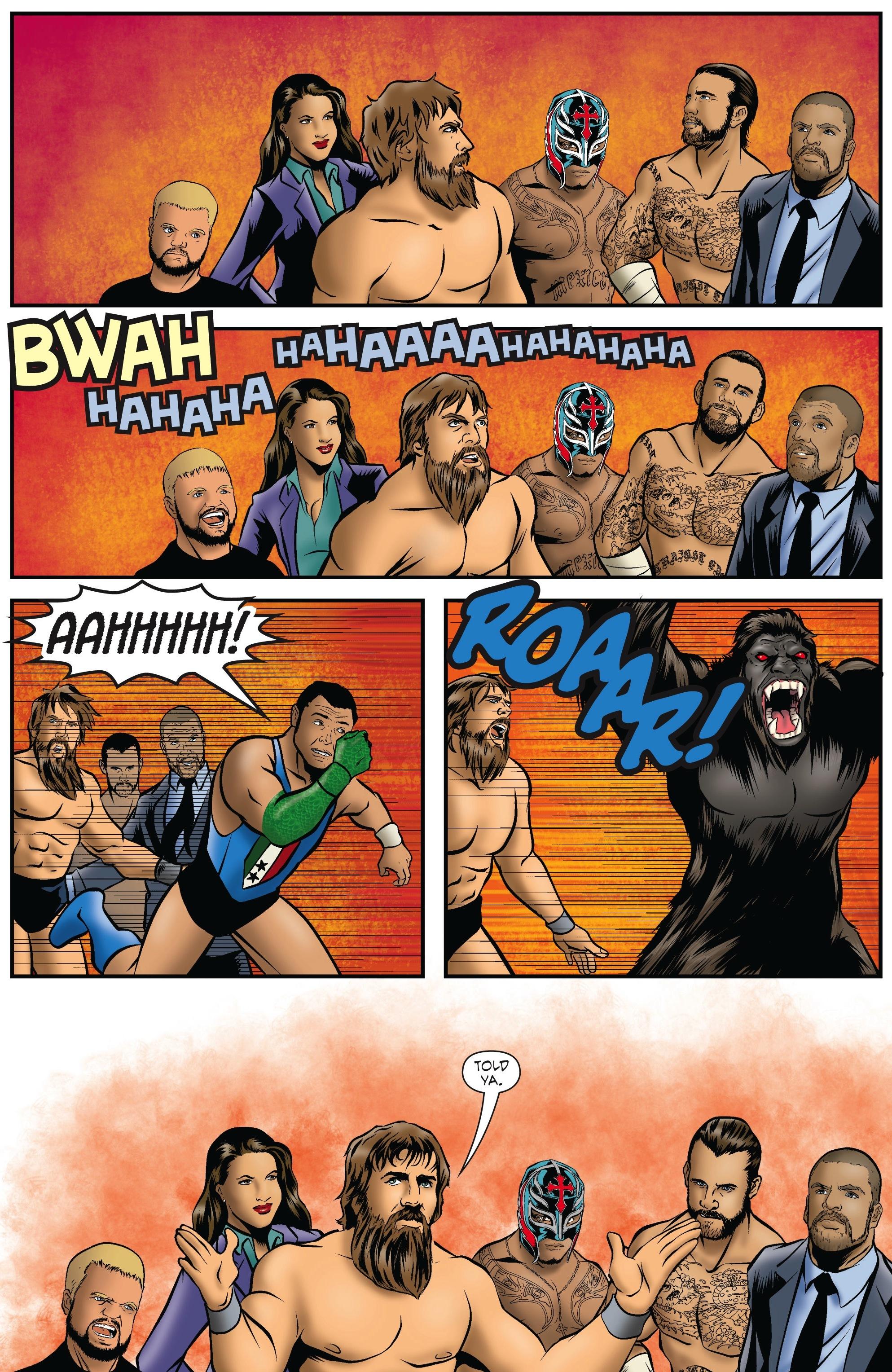 Read online WWE Superstars comic -  Issue #5 - 18