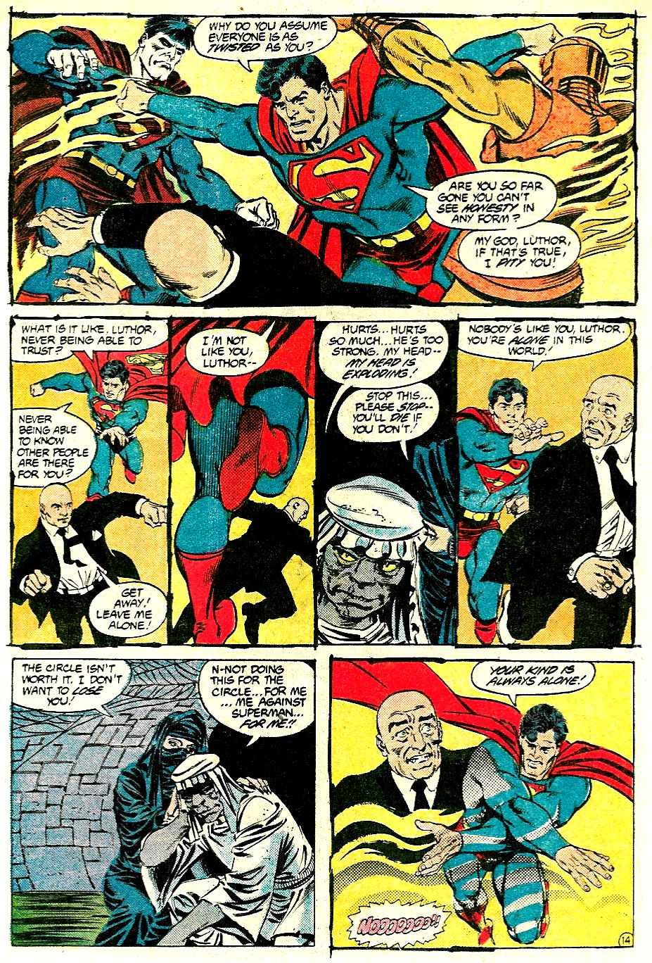 Read online Adventures of Superman (1987) comic -  Issue #427 - 14