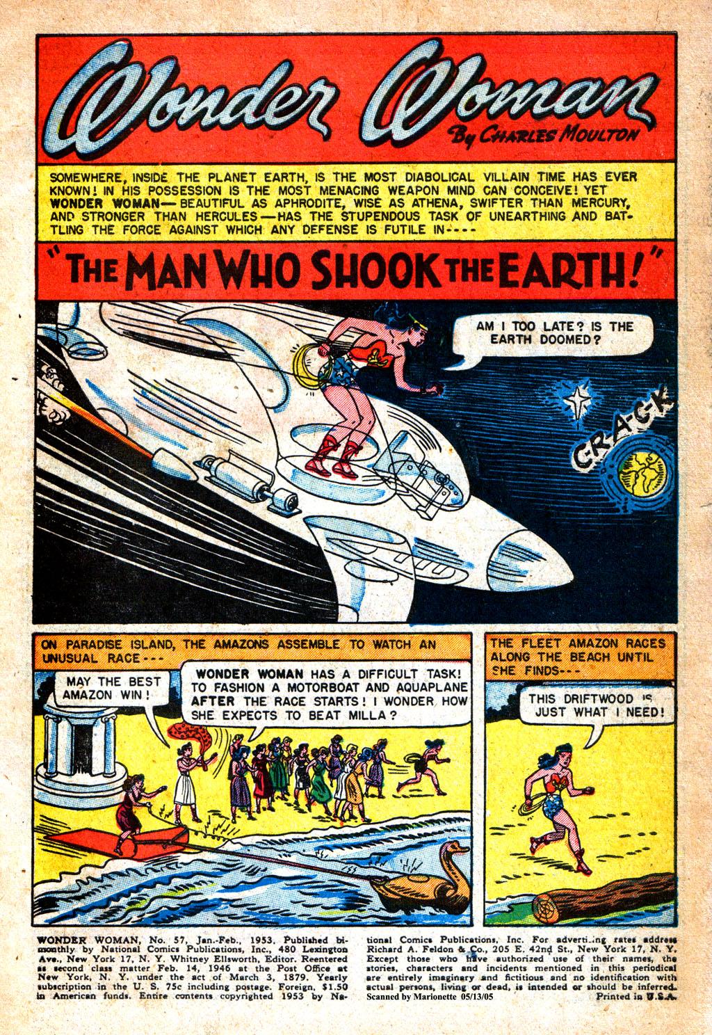 Read online Wonder Woman (1942) comic -  Issue #57 - 2