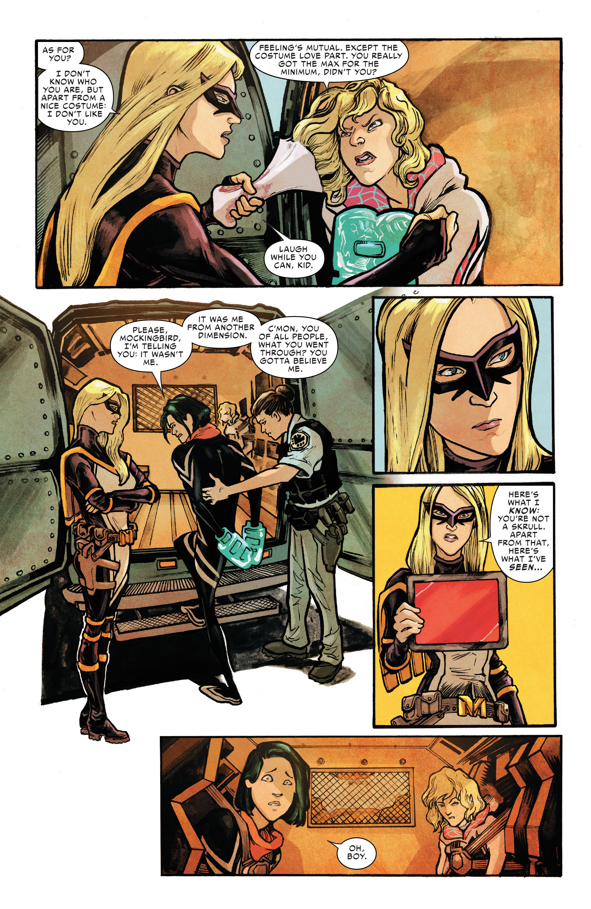 Read online Silk (2016) comic -  Issue #8 - 6
