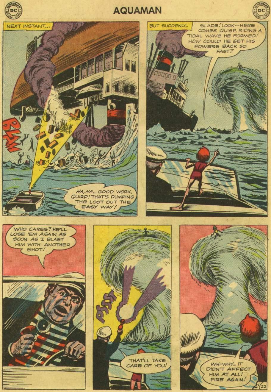 Read online Aquaman (1962) comic -  Issue #6 - 30