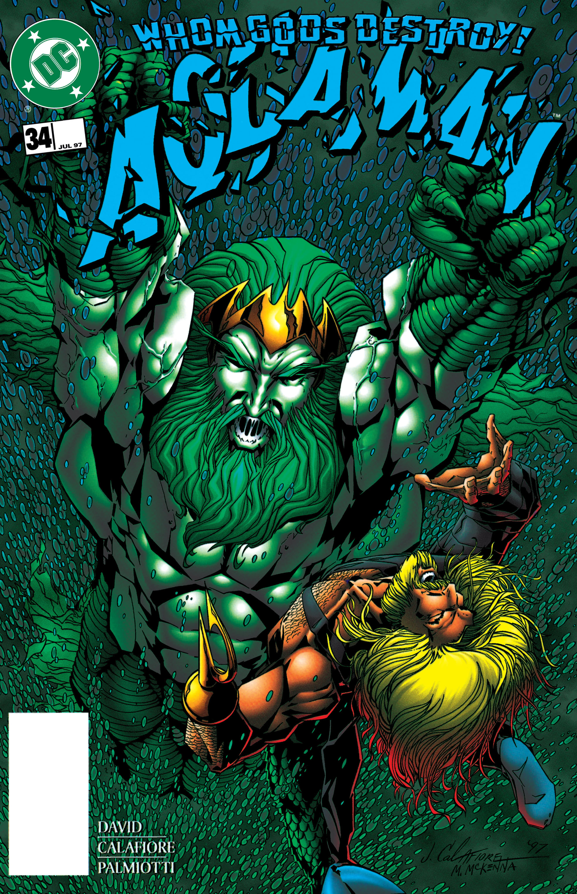 Read online Aquaman (1994) comic -  Issue #34 - 1