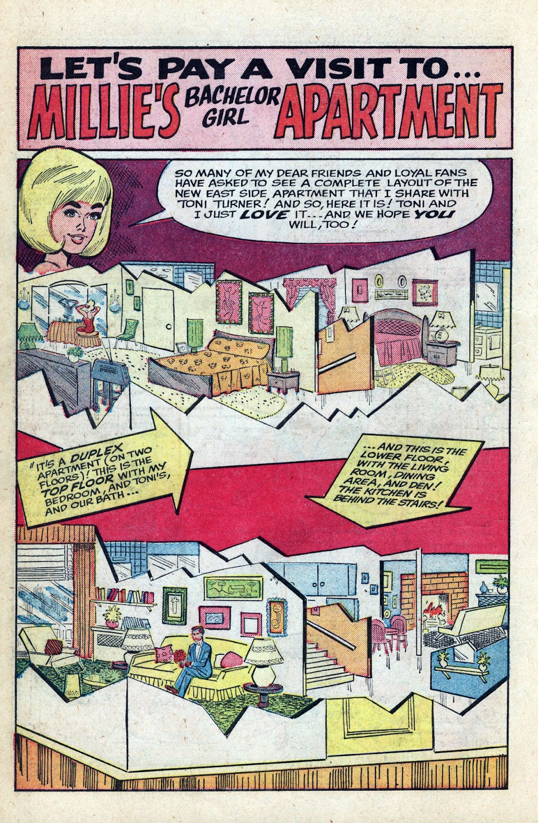 Read online Millie the Model comic -  Issue # Annual 3 - 60