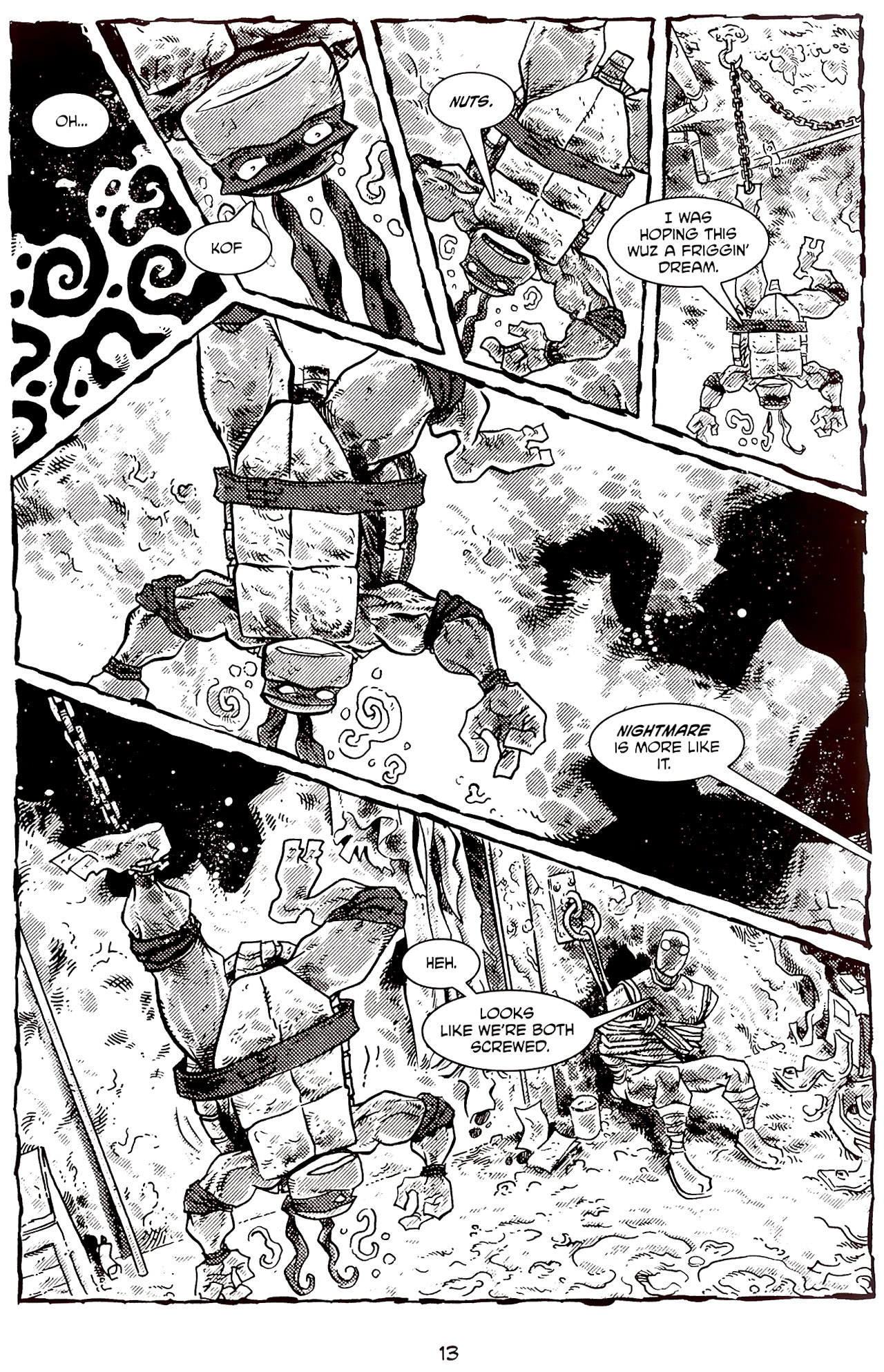 Read online Tales of the TMNT comic -  Issue #70 - 18