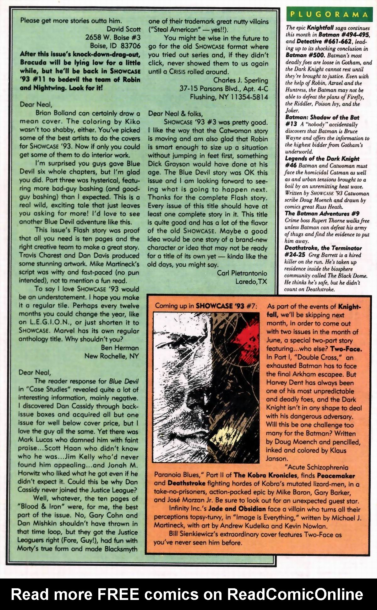 Read online Showcase '93 comic -  Issue #6 - 50