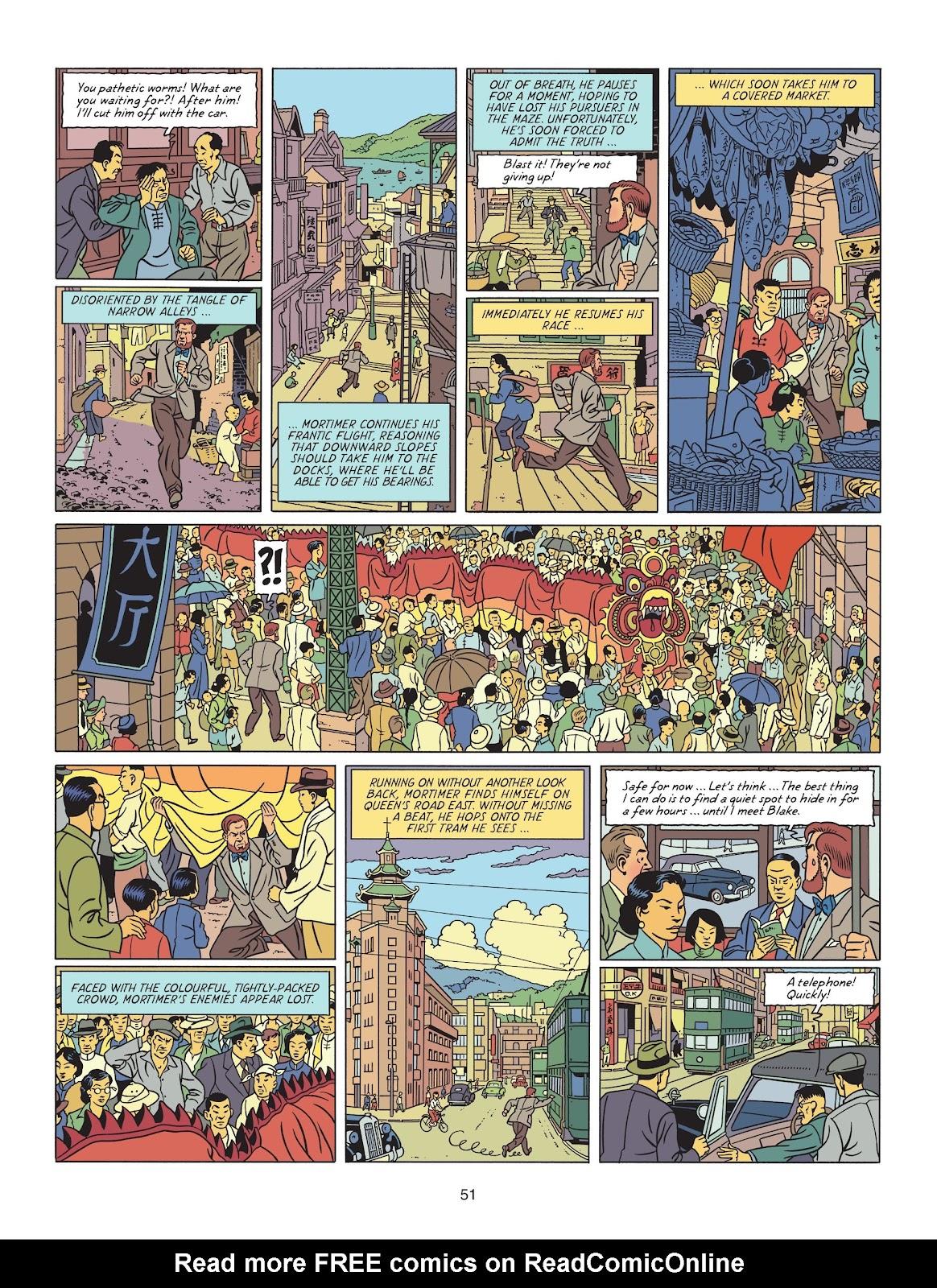Read online Blake & Mortimer comic -  Issue #25 - 53