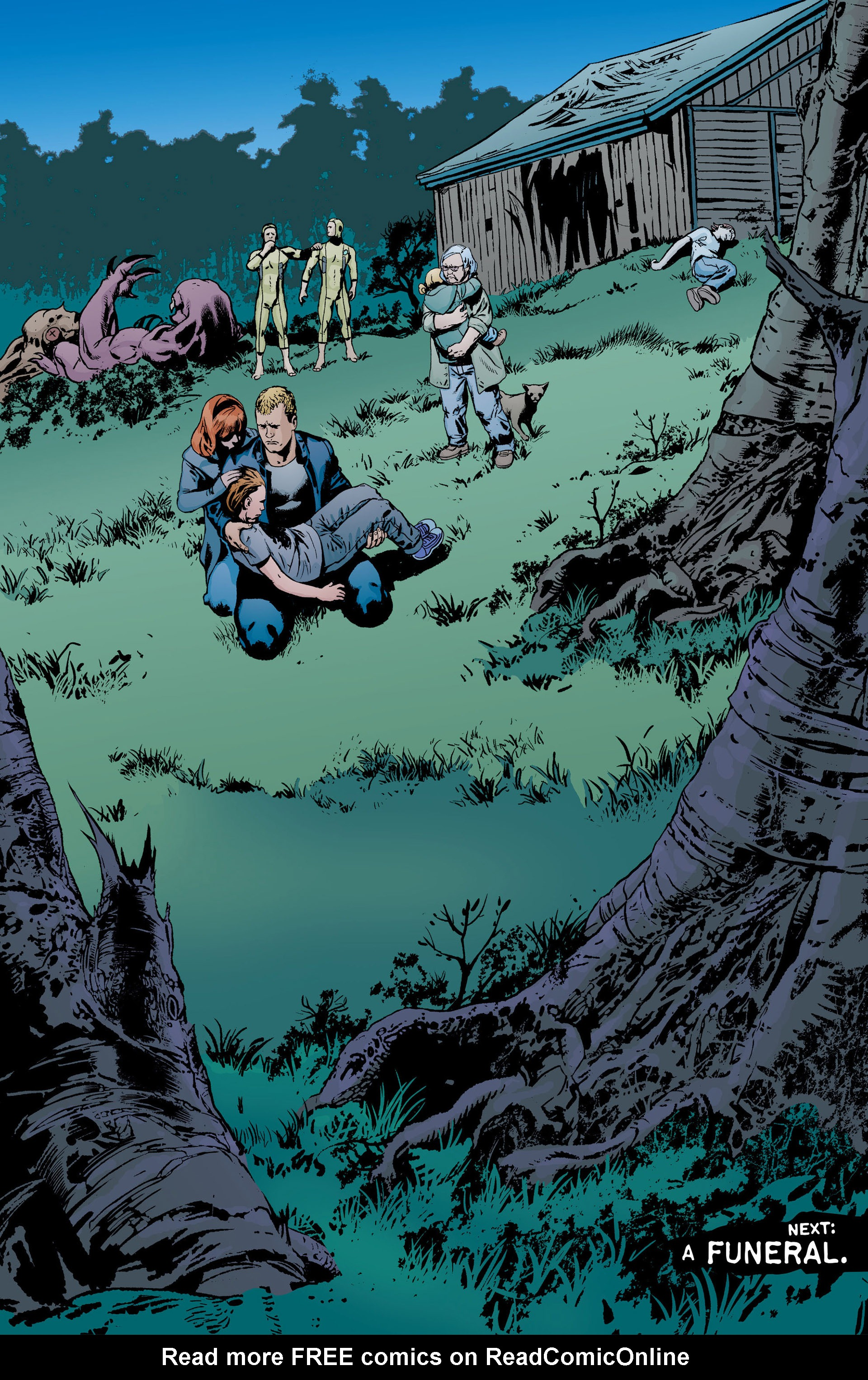 Read online Animal Man (2011) comic -  Issue #18 - 20