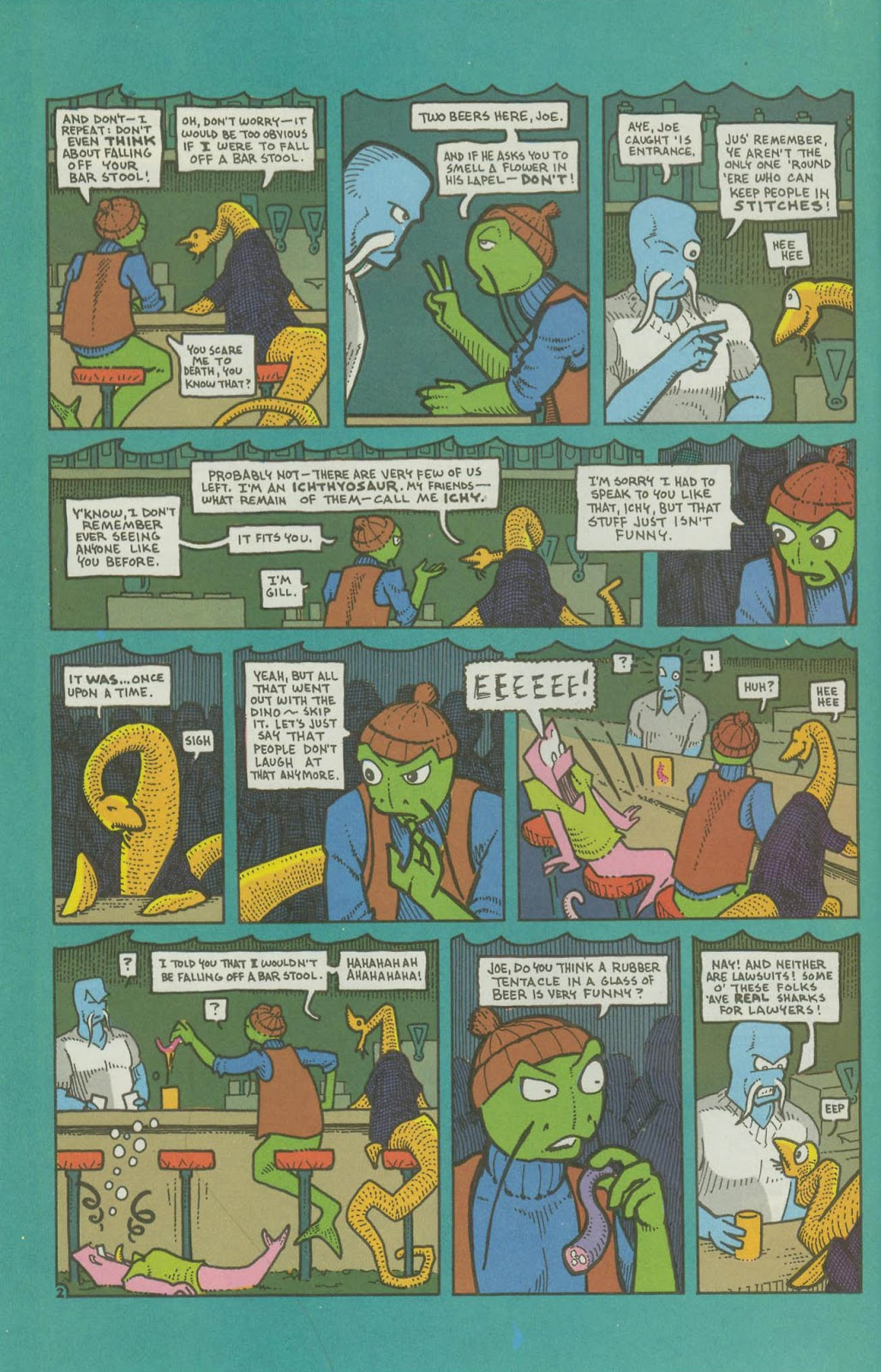 The Fish Police issue 16 - Page 25