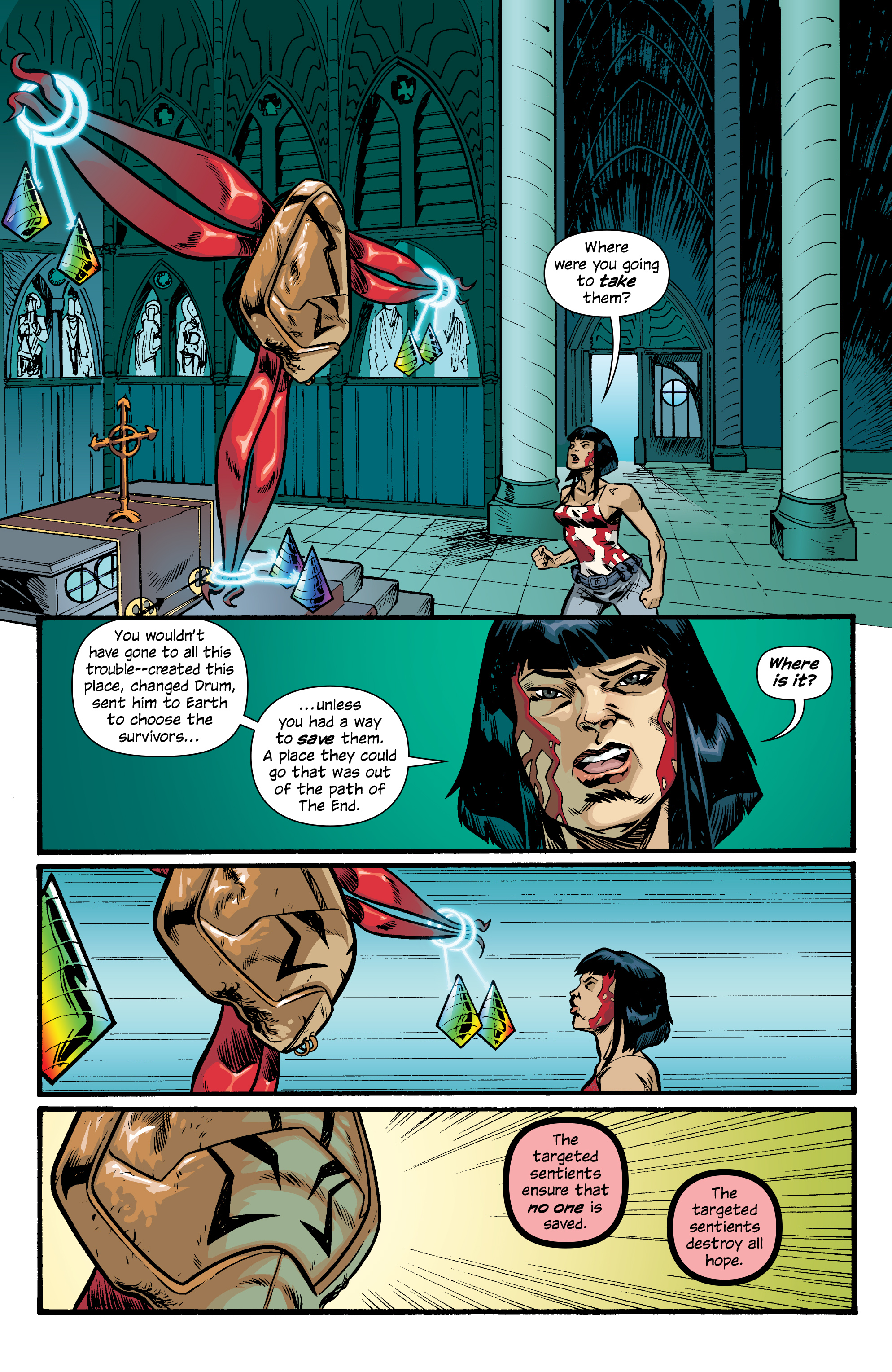 Read online Letter 44 comic -  Issue #33 - 10
