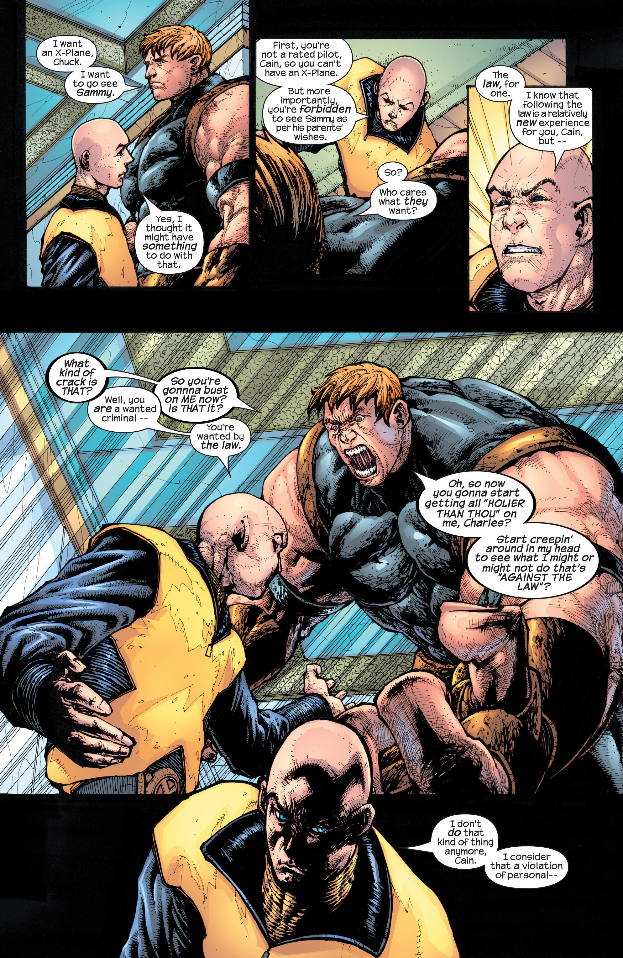 Read online Uncanny X-Men (1963) comic -  Issue #429 - 18
