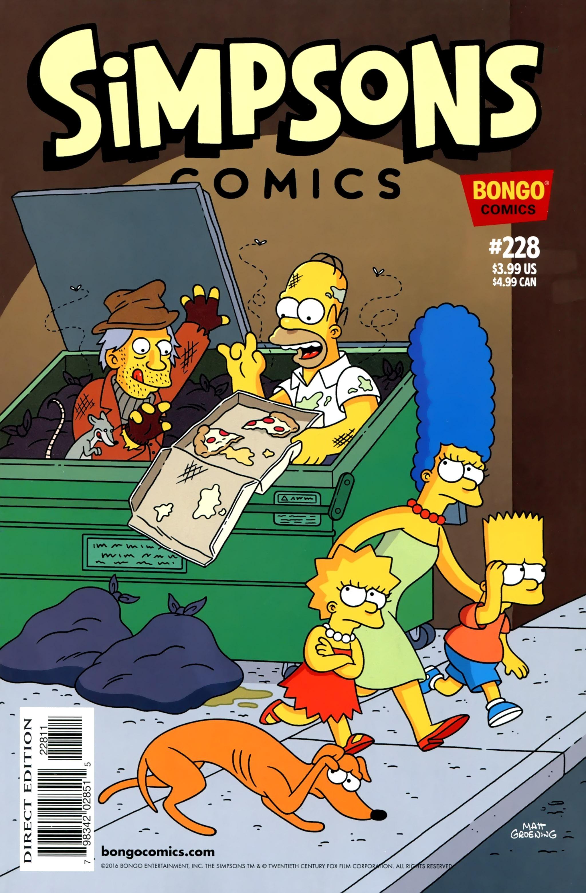 Simpsons Comics 228 Page 1