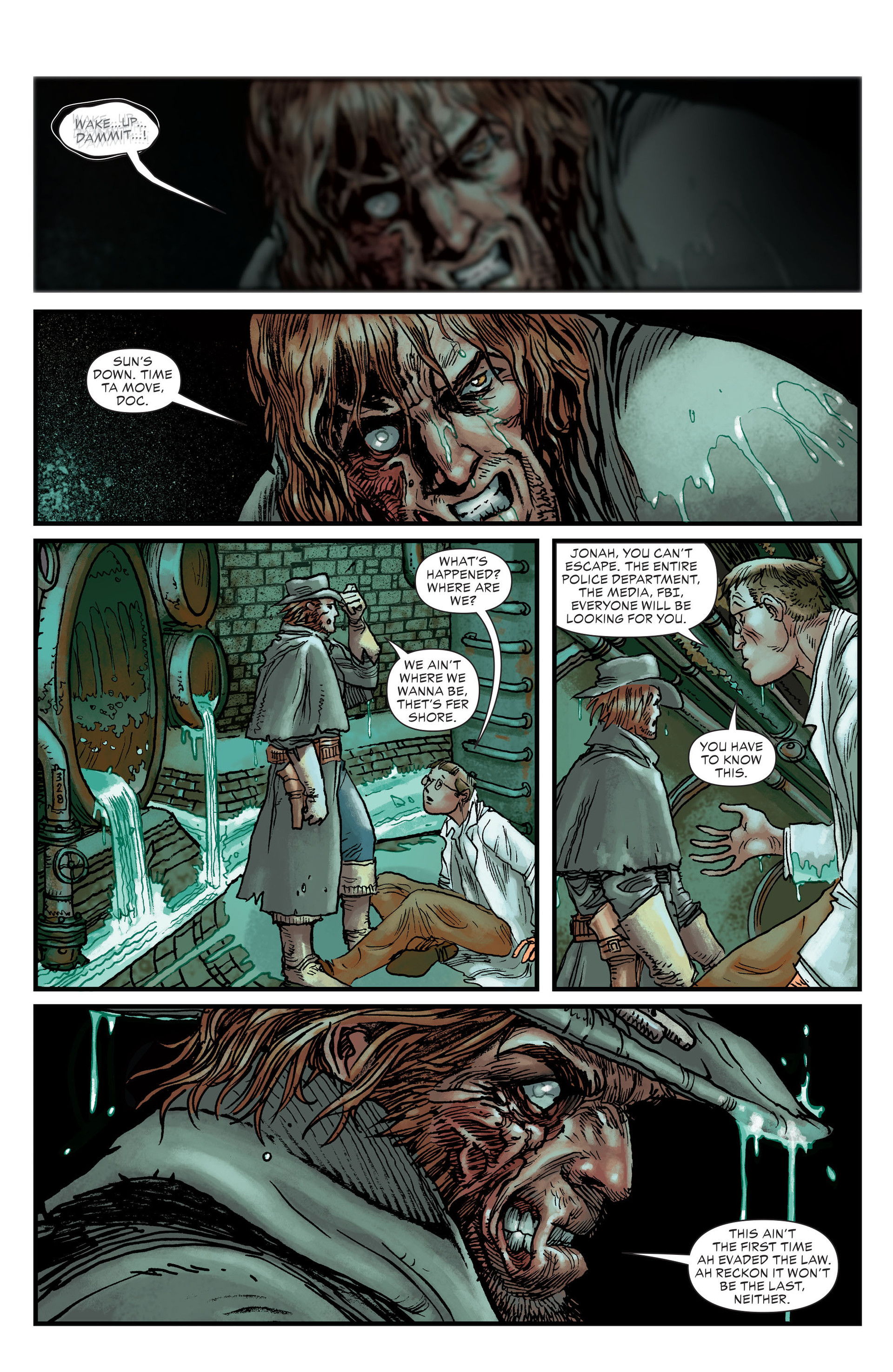 Read online All-Star Western (2011) comic -  Issue #22 - 17