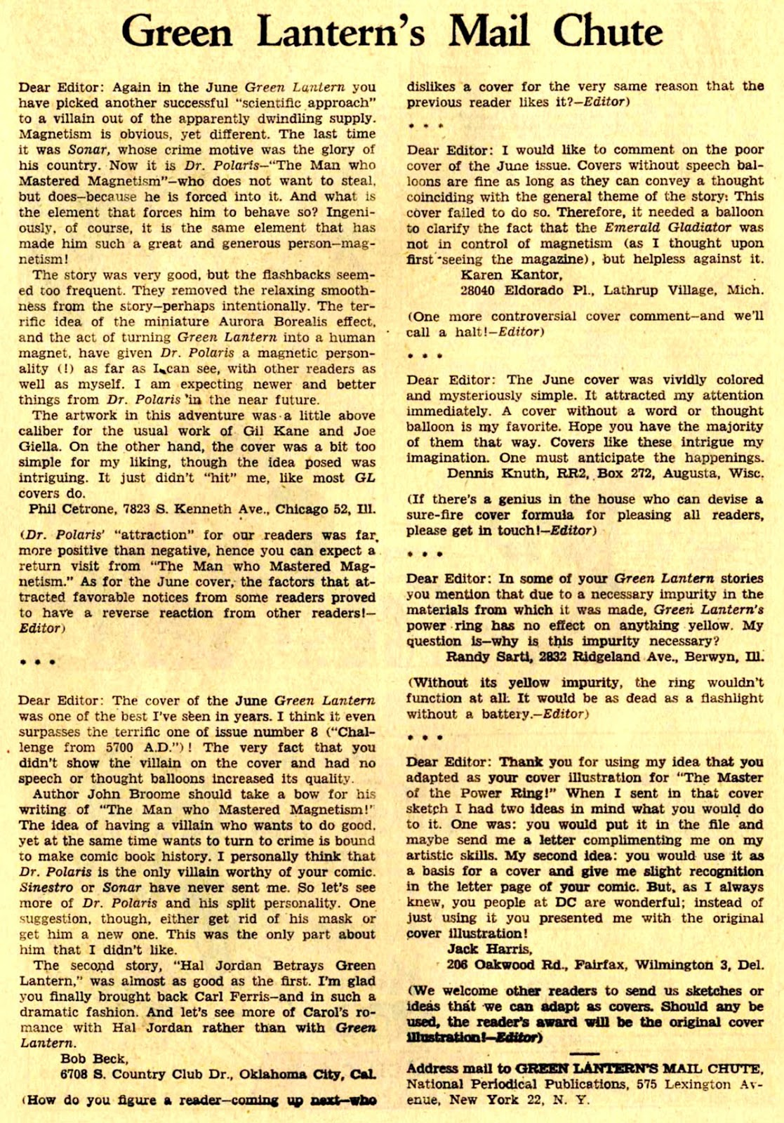 Green Lantern (1960) Issue #24 #27 - English 20