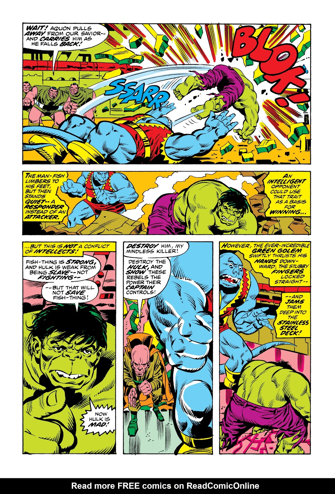 Read online Marvel Masterworks: The Incredible Hulk comic -  Issue # TPB 9 (Part 2) - 89