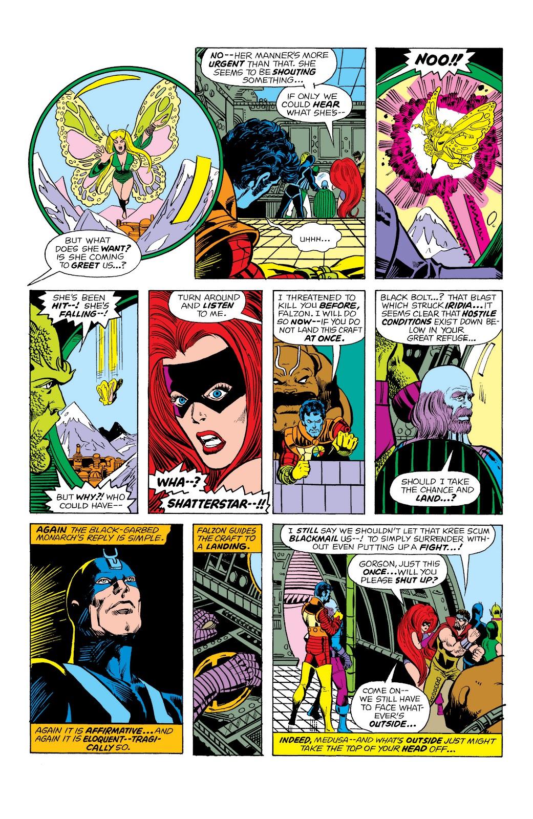 Read online Marvel Masterworks: The Inhumans comic -  Issue # TPB 2 (Part 1) - 80