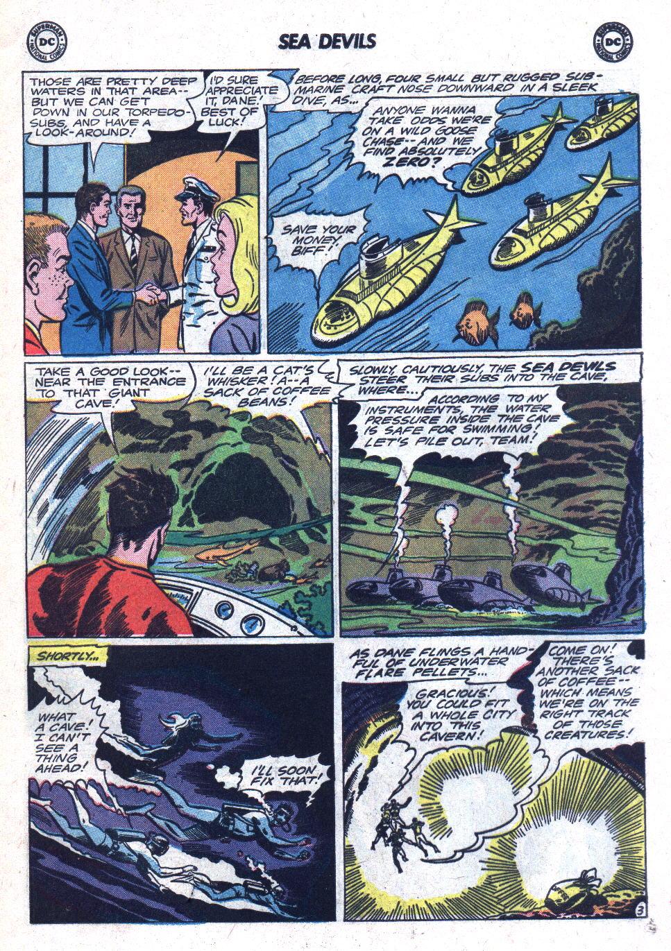 Read online Sea Devils comic -  Issue #18 - 5