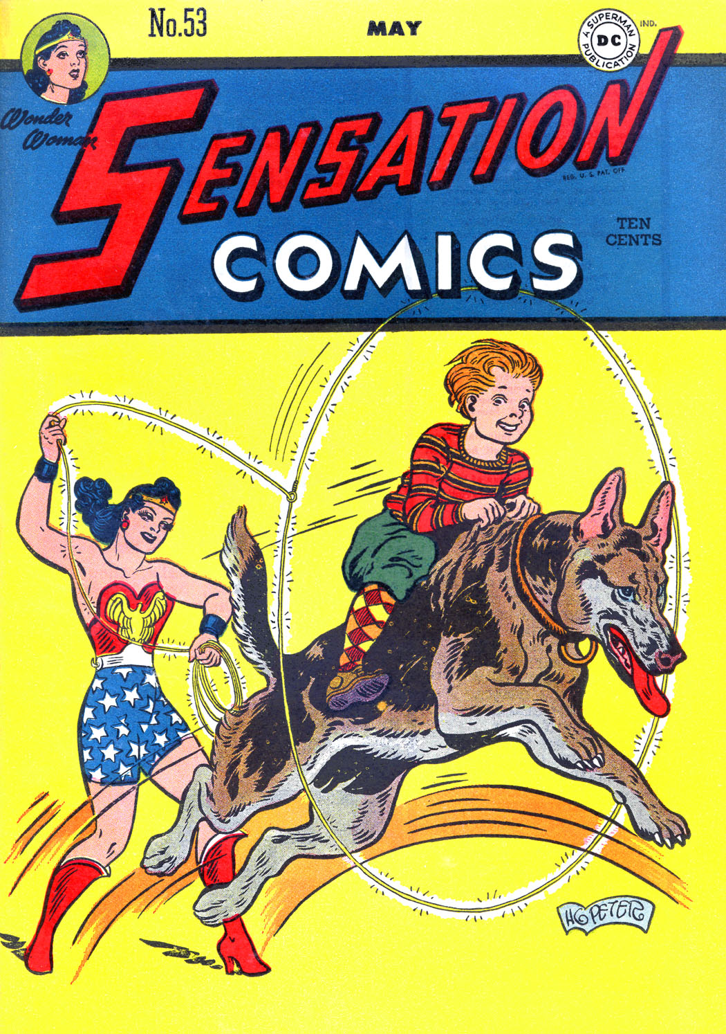 Read online Sensation (Mystery) Comics comic -  Issue #53 - 1