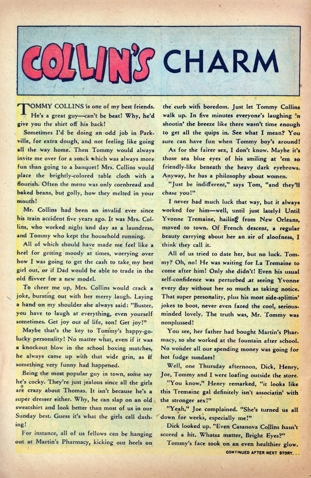 Read online Nellie The Nurse (1945) comic -  Issue #24 - 16
