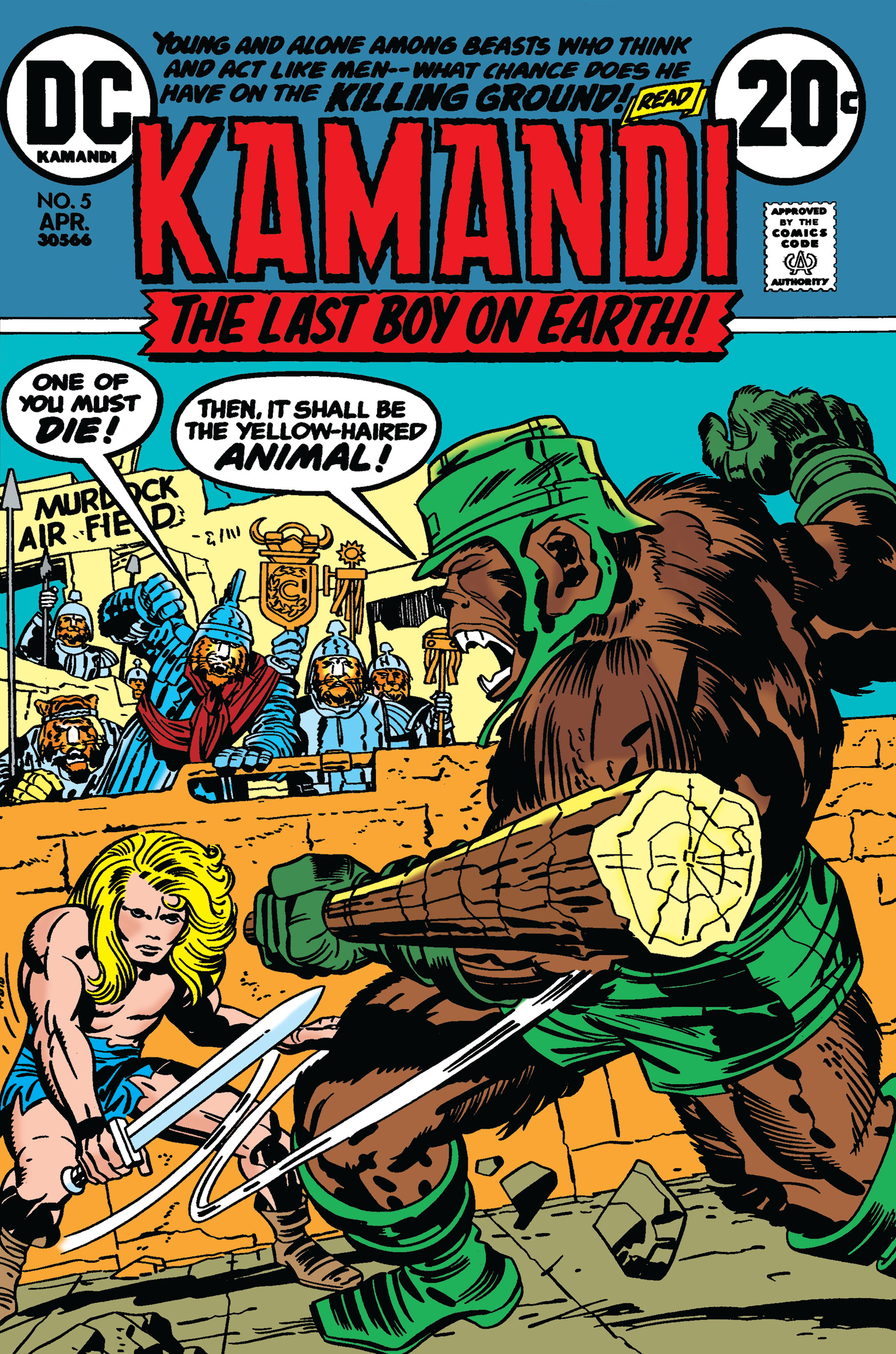 Kamandi, The Last Boy On Earth 5 Page 1