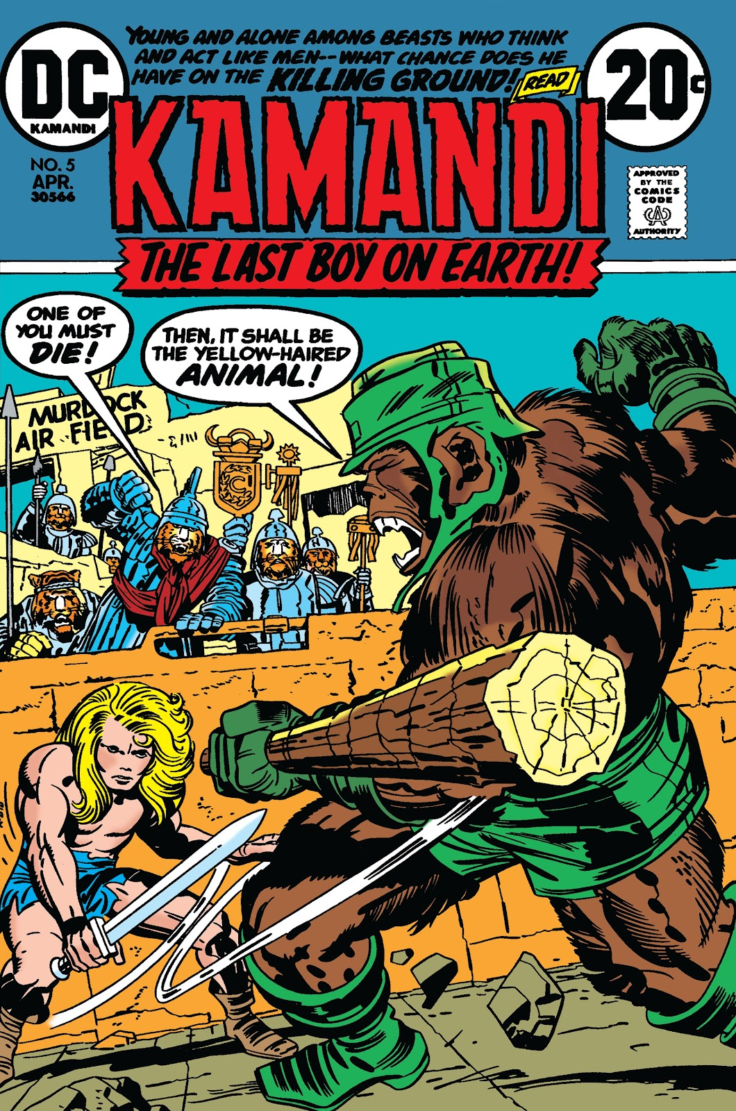 Kamandi, The Last Boy On Earth issue 5 - Page 1