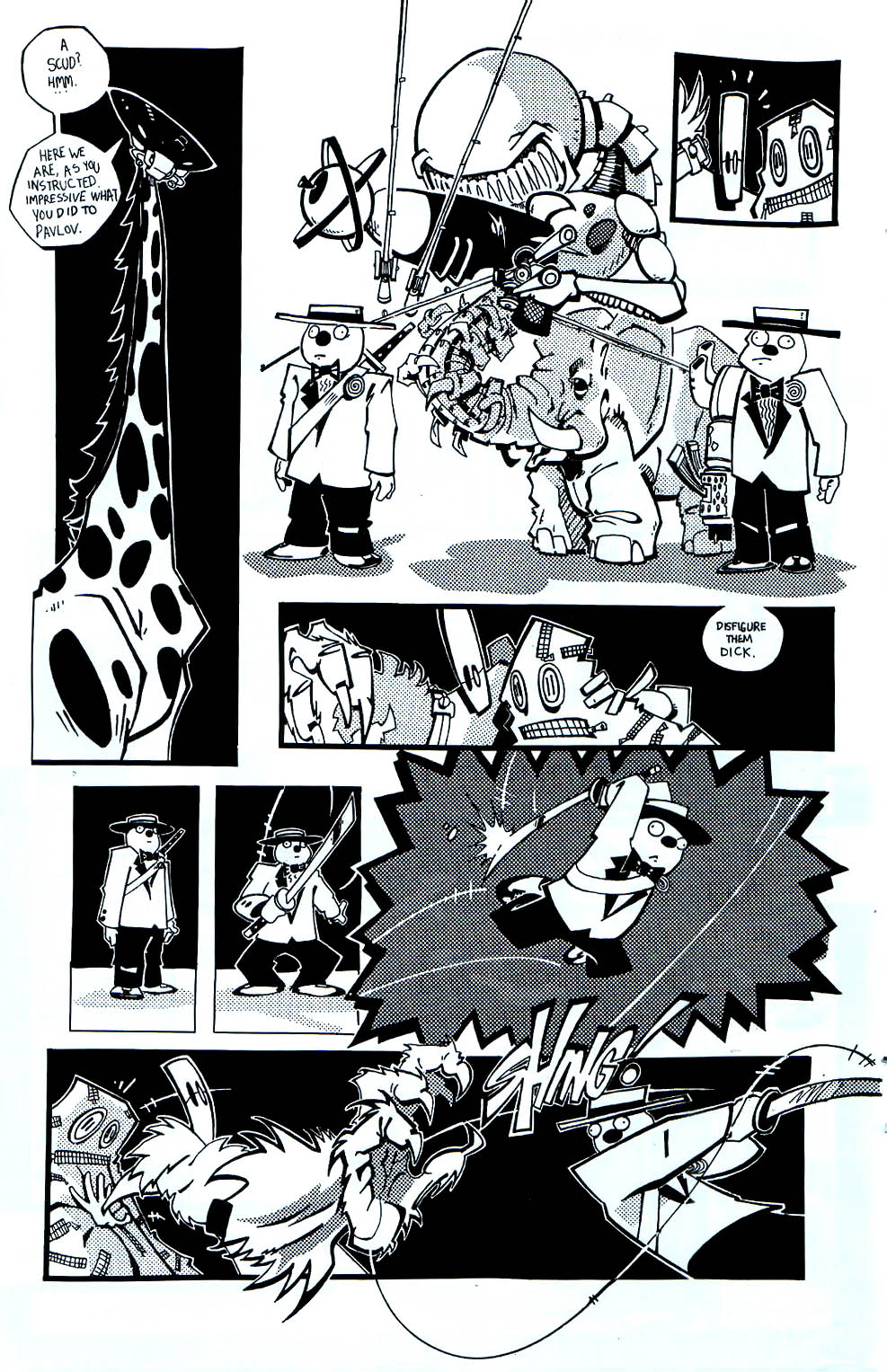 Read online Scud: The Disposable Assassin (1994) comic -  Issue #7 - 15