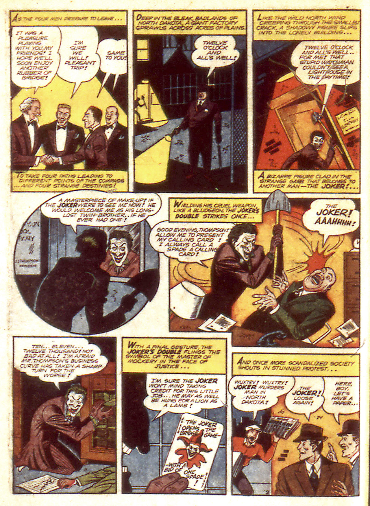 Read online Detective Comics (1937) comic -  Issue #85 - 4