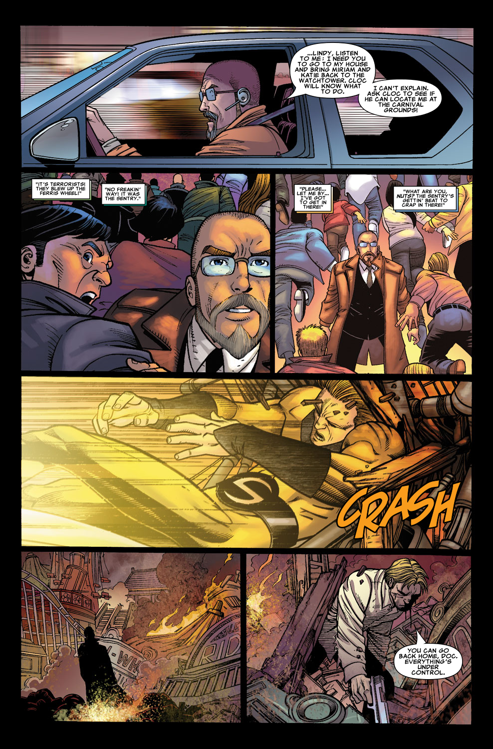 Read online Sentry (2006) comic -  Issue #5 - 20