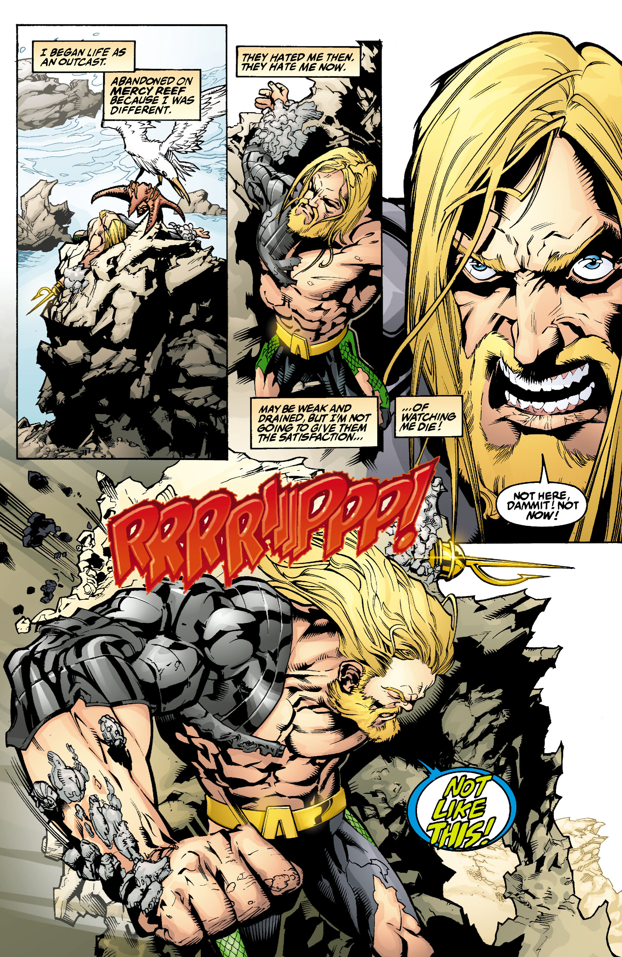 Read online Aquaman (2003) comic -  Issue #1 - 10