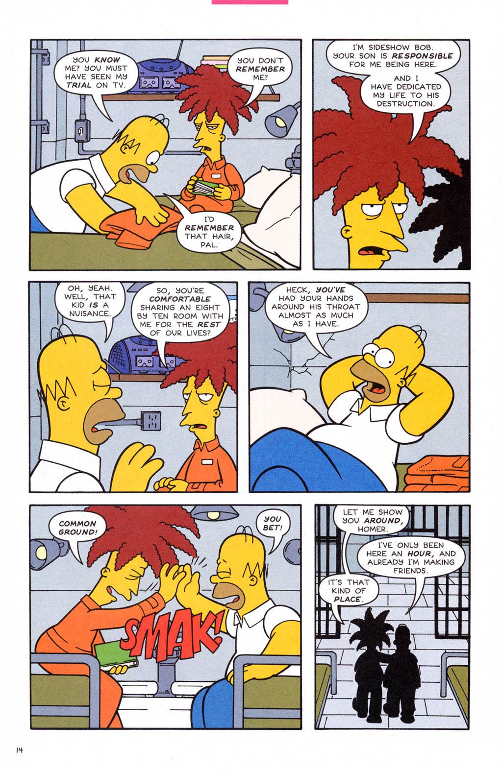 Read online Simpsons Comics comic -  Issue #108 - 15
