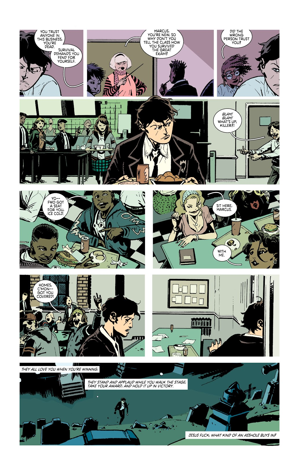 Read online Deadly Class comic -  Issue #38 - 20
