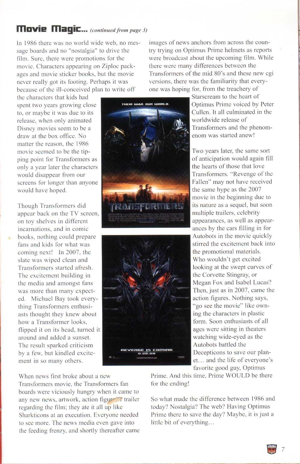 Read online Transformers: Collectors' Club comic -  Issue #29 - 7