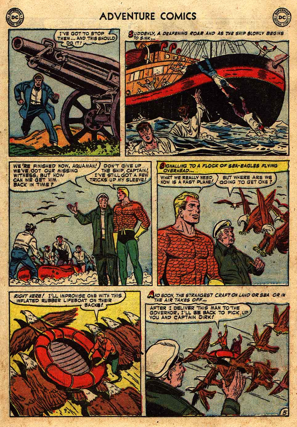 Read online Adventure Comics (1938) comic -  Issue #175 - 21
