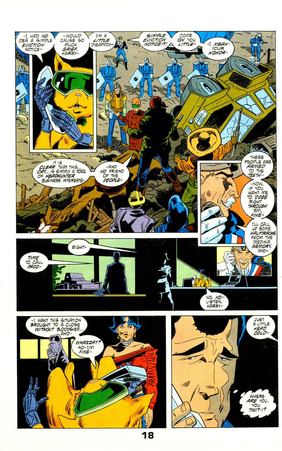 Read online American Flagg! comic -  Issue #29 - 21