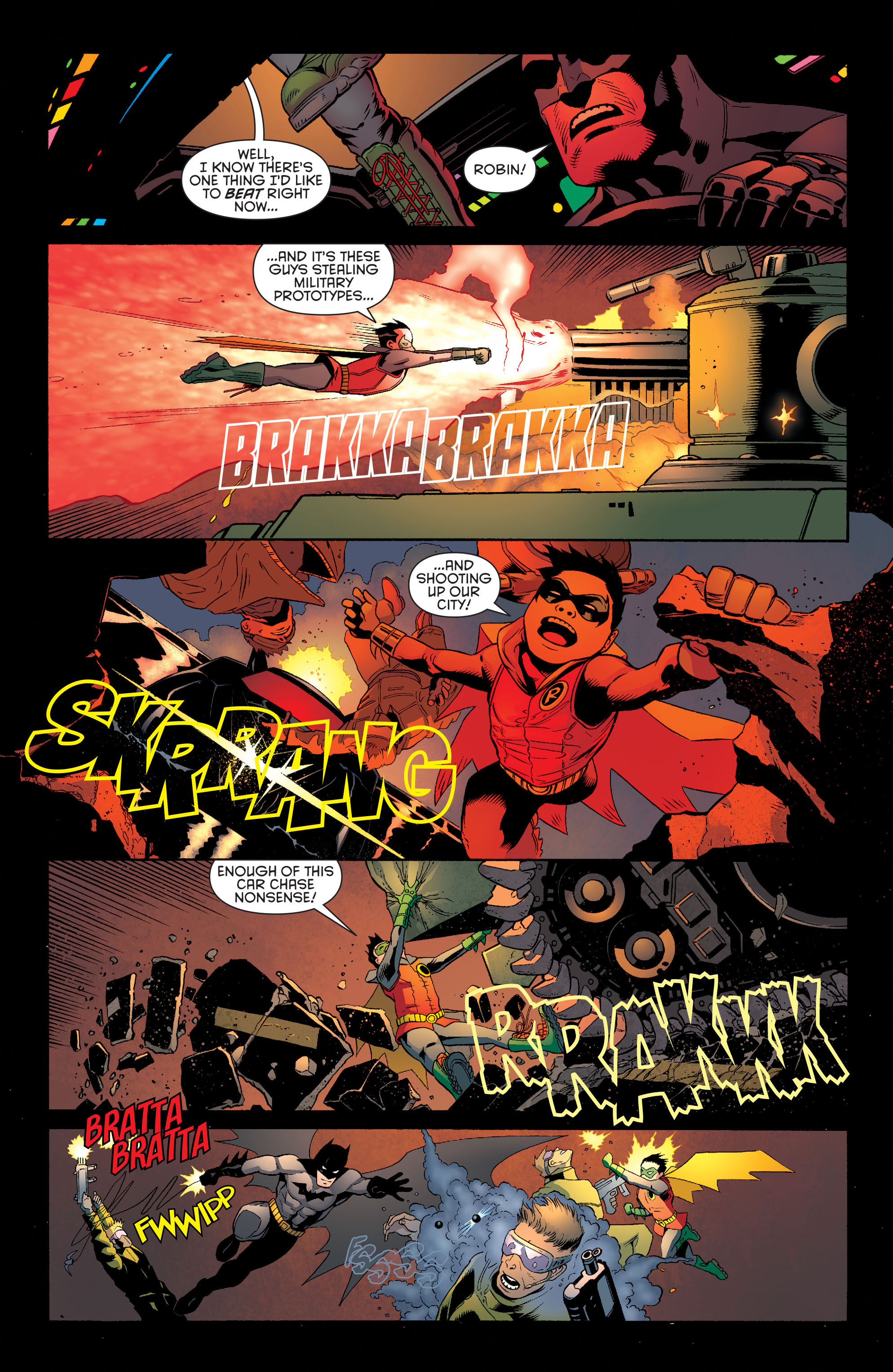 Read online Batman and Robin (2011) comic -  Issue #39 - 13