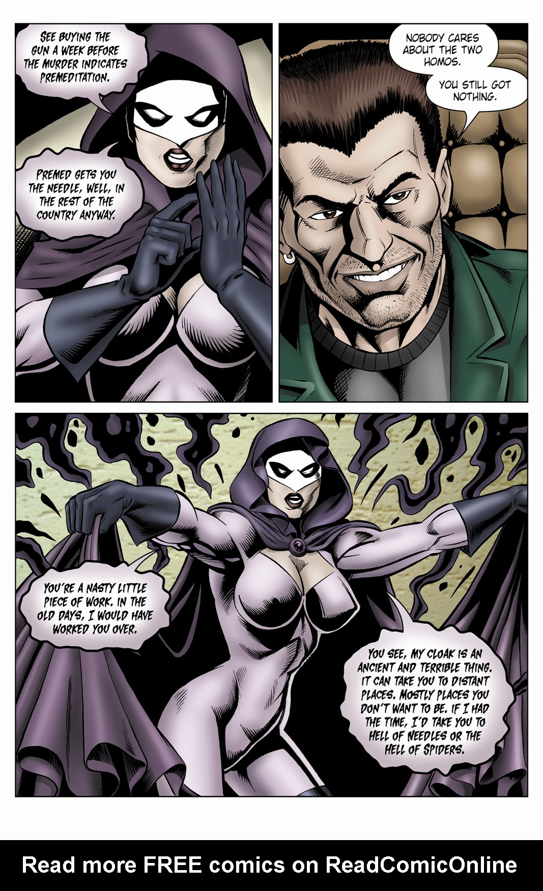 Read online SideChicks comic -  Issue #4 - 33