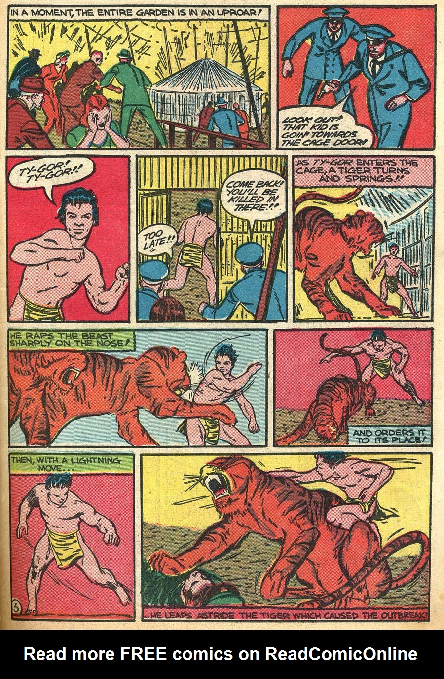 Blue Ribbon Comics (1939) issue 9 - Page 47