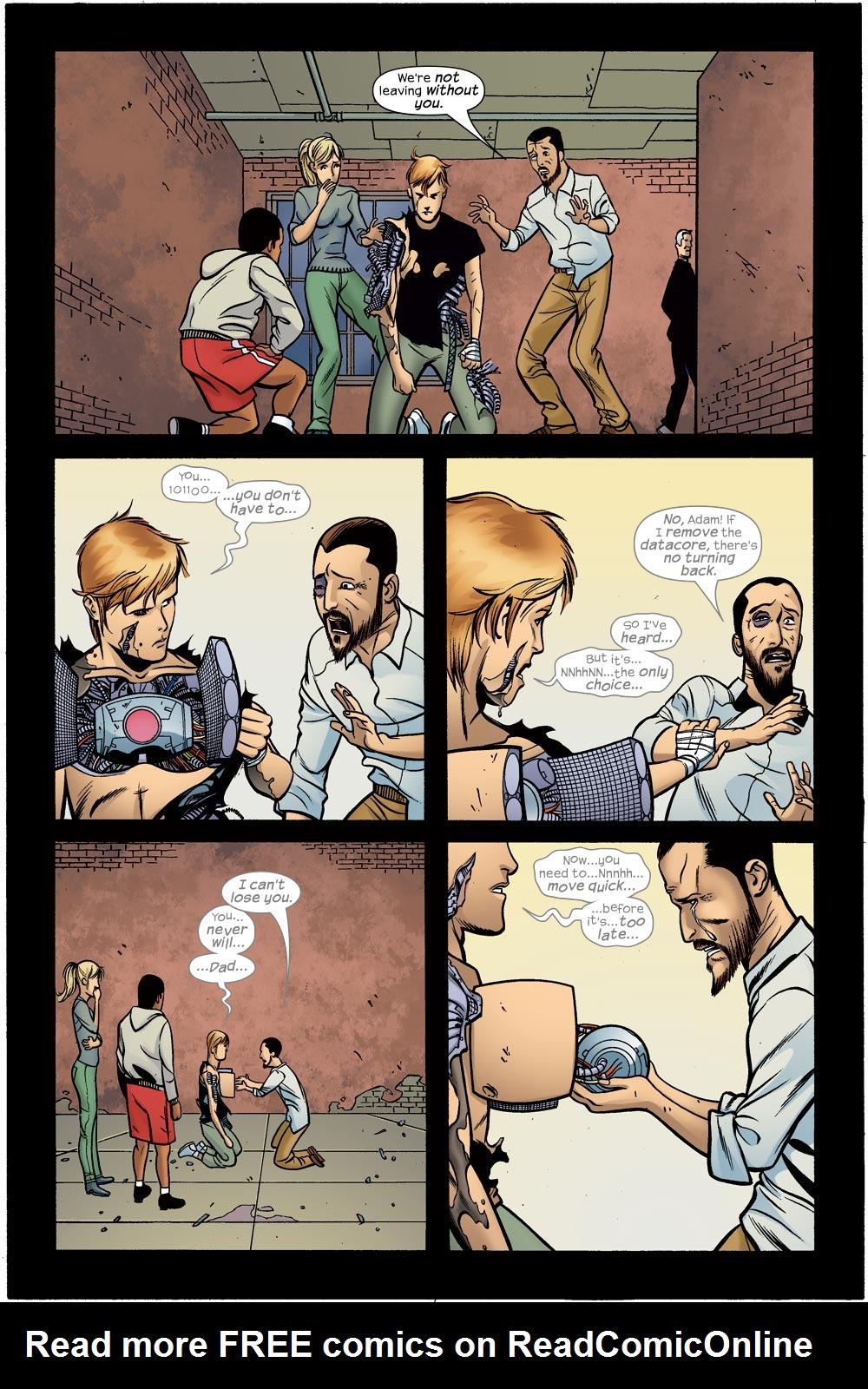 Read online Machine Teen comic -  Issue #5 - 19