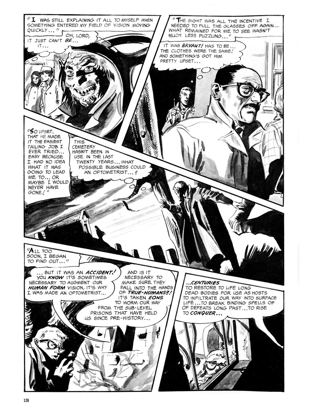 Read online Eerie Archives comic -  Issue # TPB 2 - 127